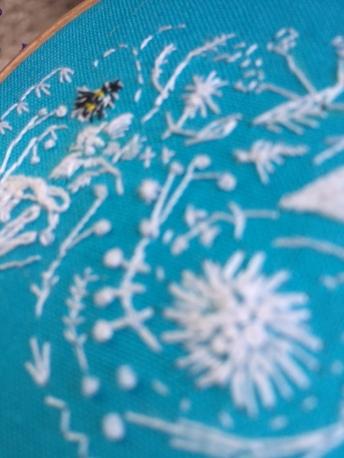 Whitework bee